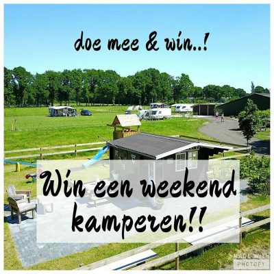 Doe Mee En Win Gratis kamperen