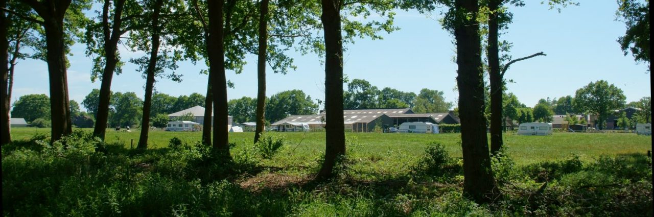 header Camping en IJsboerderij De Rozehoeve Bos